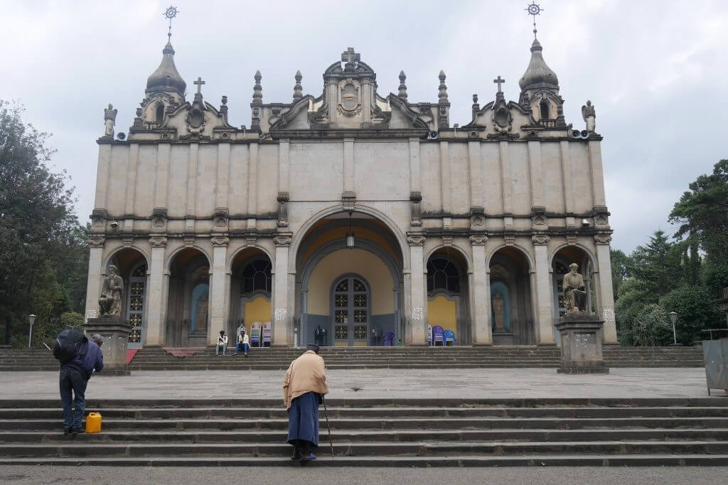 Catedral Holy Thrinity em Adis Abeba