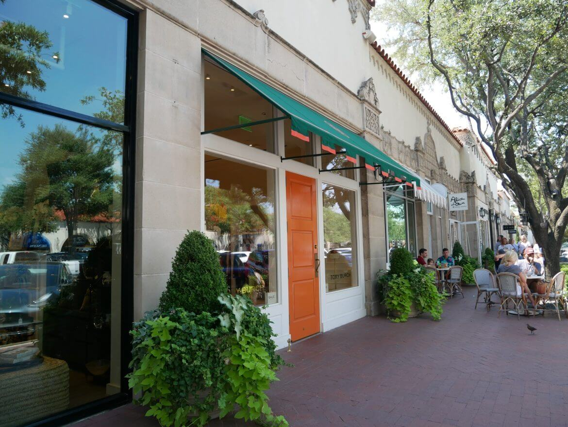 restaurante mexicano no shoppign Highland Village em Dallas