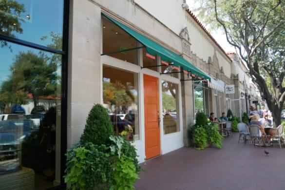 restaurante mexicano no shoppign Highland Village em Dallas