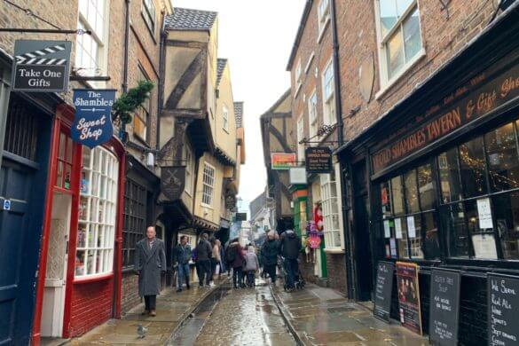 Shamble, a rua do Harry Potter em York