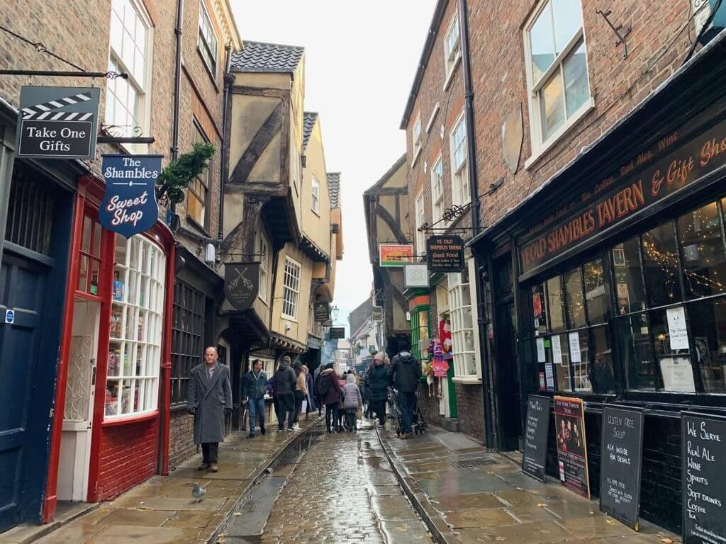 Shamble, a rua do Harry Potter, em York