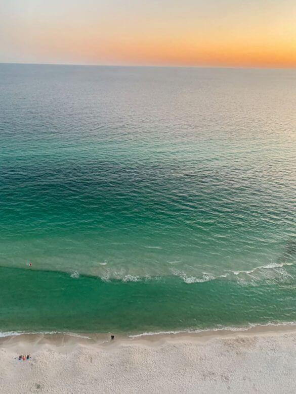 Panama City Beach FloridaVista do quarto do ResortQuest