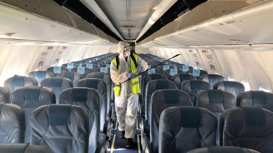 AirEuropa: medidas de higiene