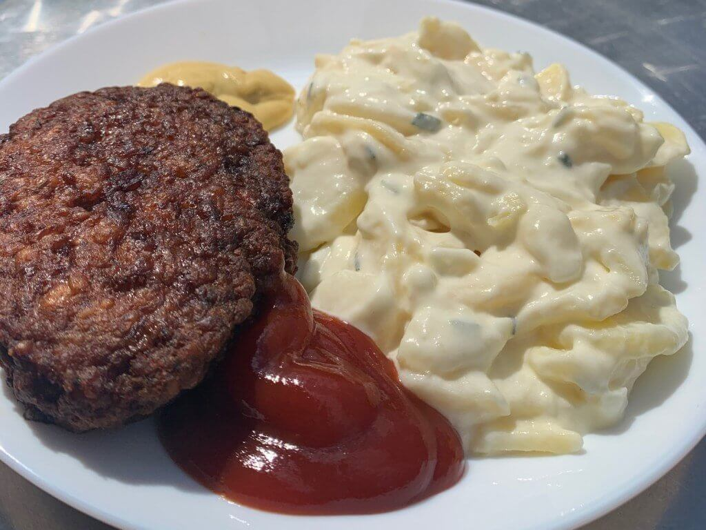 salada de batata comida alema