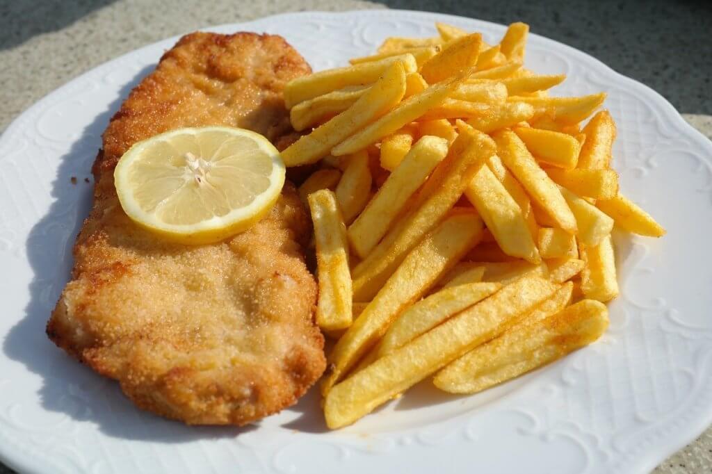 schnitzel comida alema