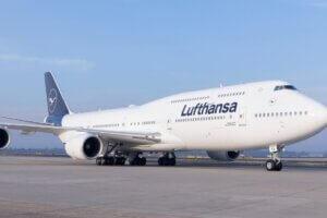 Luftthansa Boeing