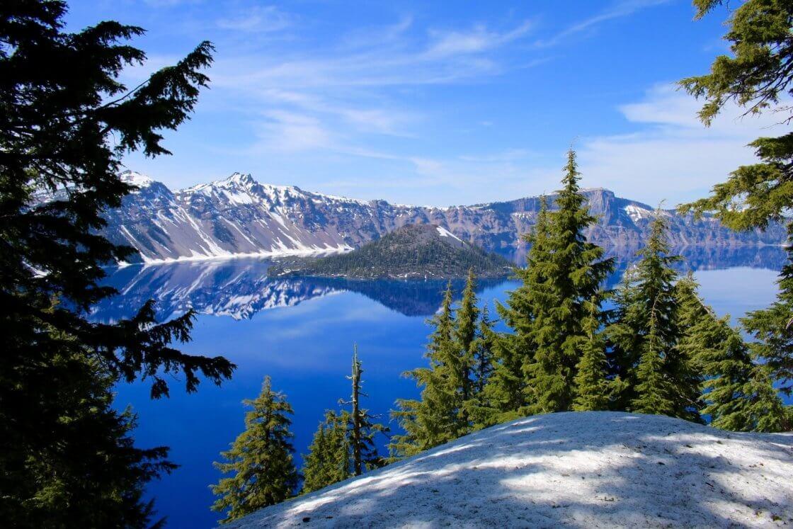 Parques Nacionais dos Estados Unidos Crater Lake National Park