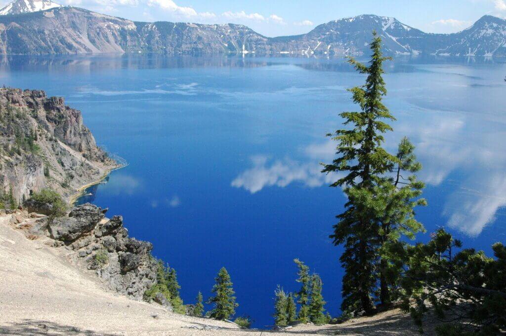 Parques nacionais dos Estados Unidos Crater Lake