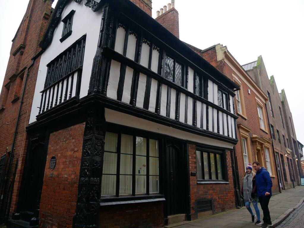 Casa antiga em Coventry