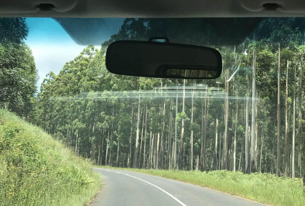 Rota Panoramica África do Sul-estrada