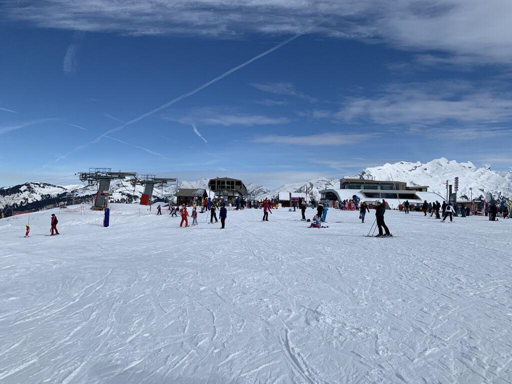 esqui na franca samoens grand massif