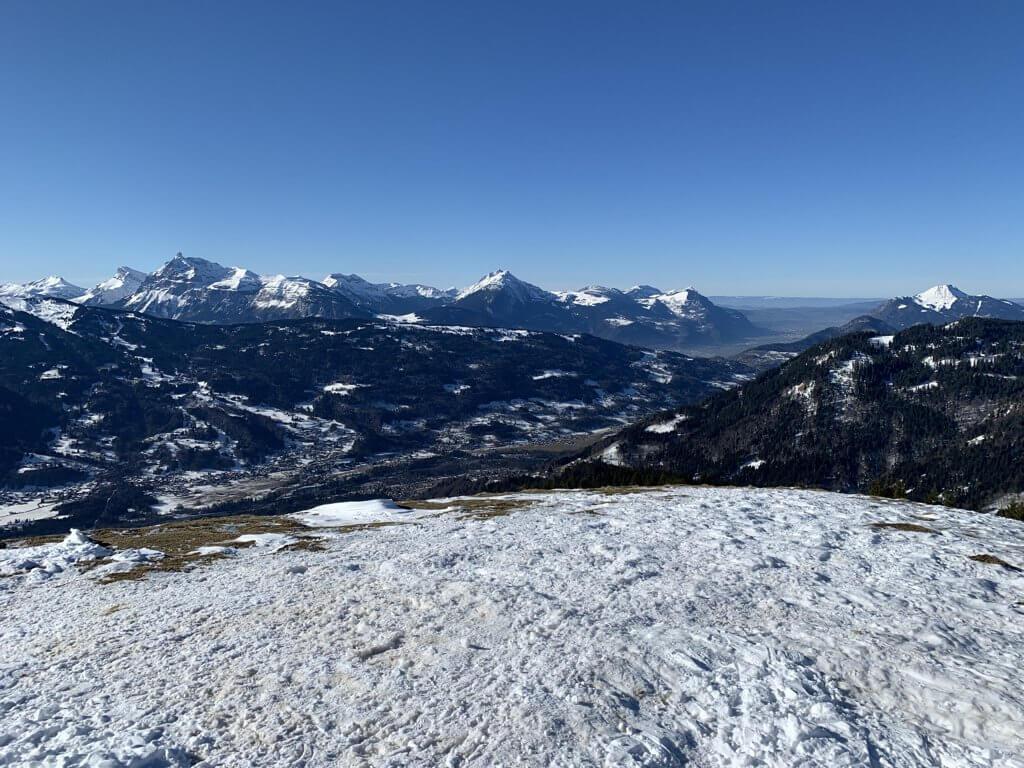 esqui na franca samoens vista