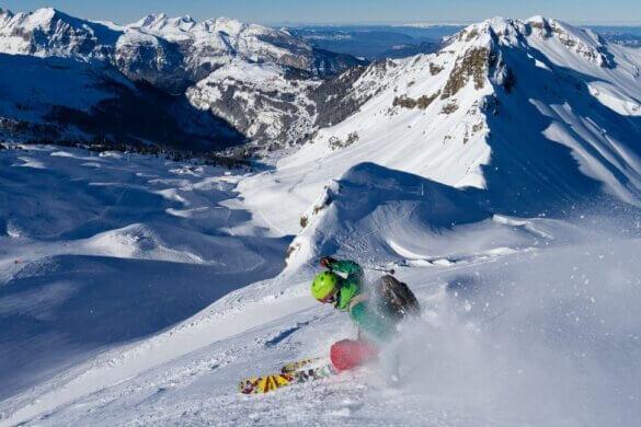 estacao de esqui francesa Samoens