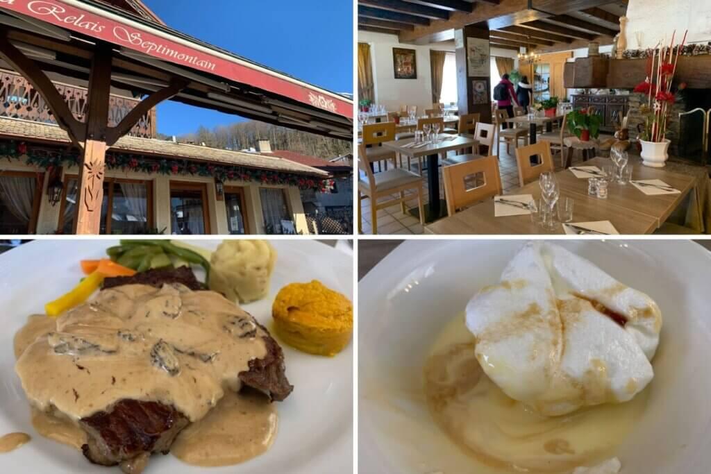 estacao de esqui francesa samoens restaurante