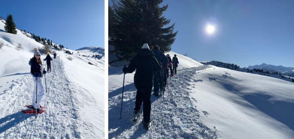 estacao de esquii francesa samoens caminhada side