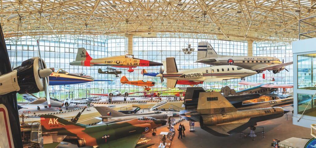 Museu da Aviacao o que fazer em Seattle