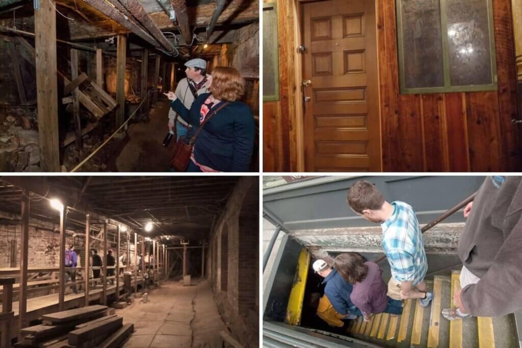 O que fazer em seattle underground tour