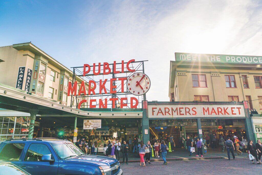 O que fazer em seattle Pike Place Market