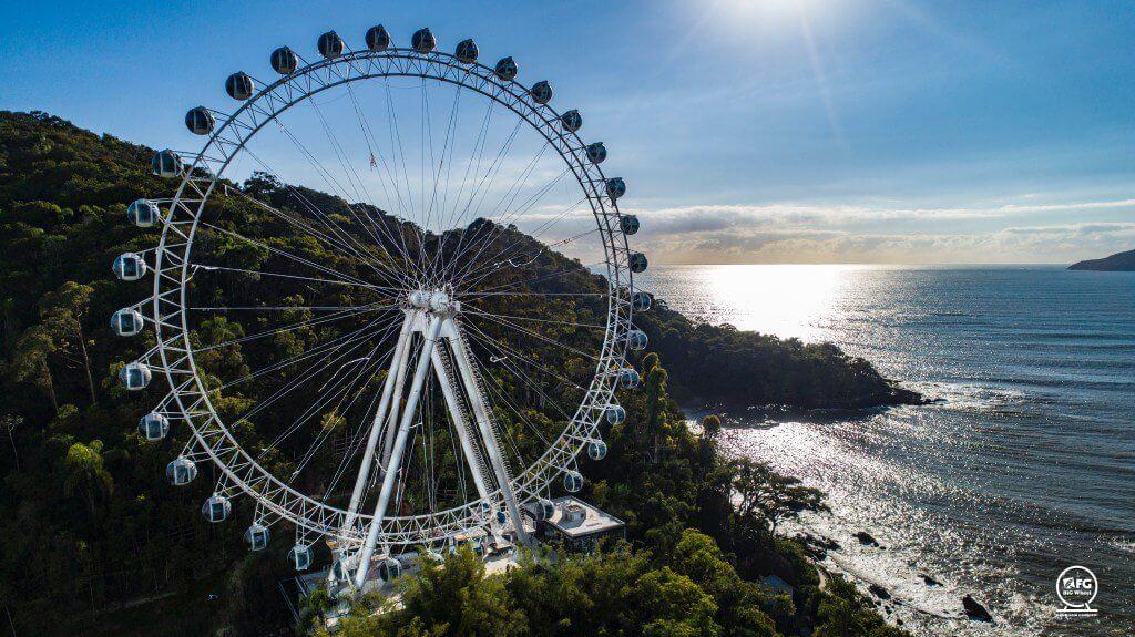Roda gigante Balneario Camboriu