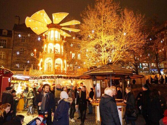 Mercado de Natal Alemanha Munique
