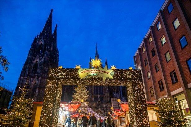 Mercado de Natal em Colonia na Alemanha