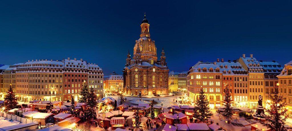 Mercado de Natal na Alemanha Dresden