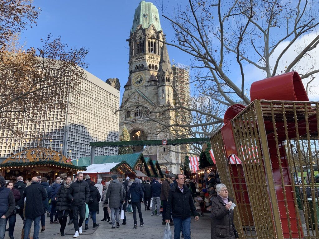 Mercados de Natal na Alemanha Berlim