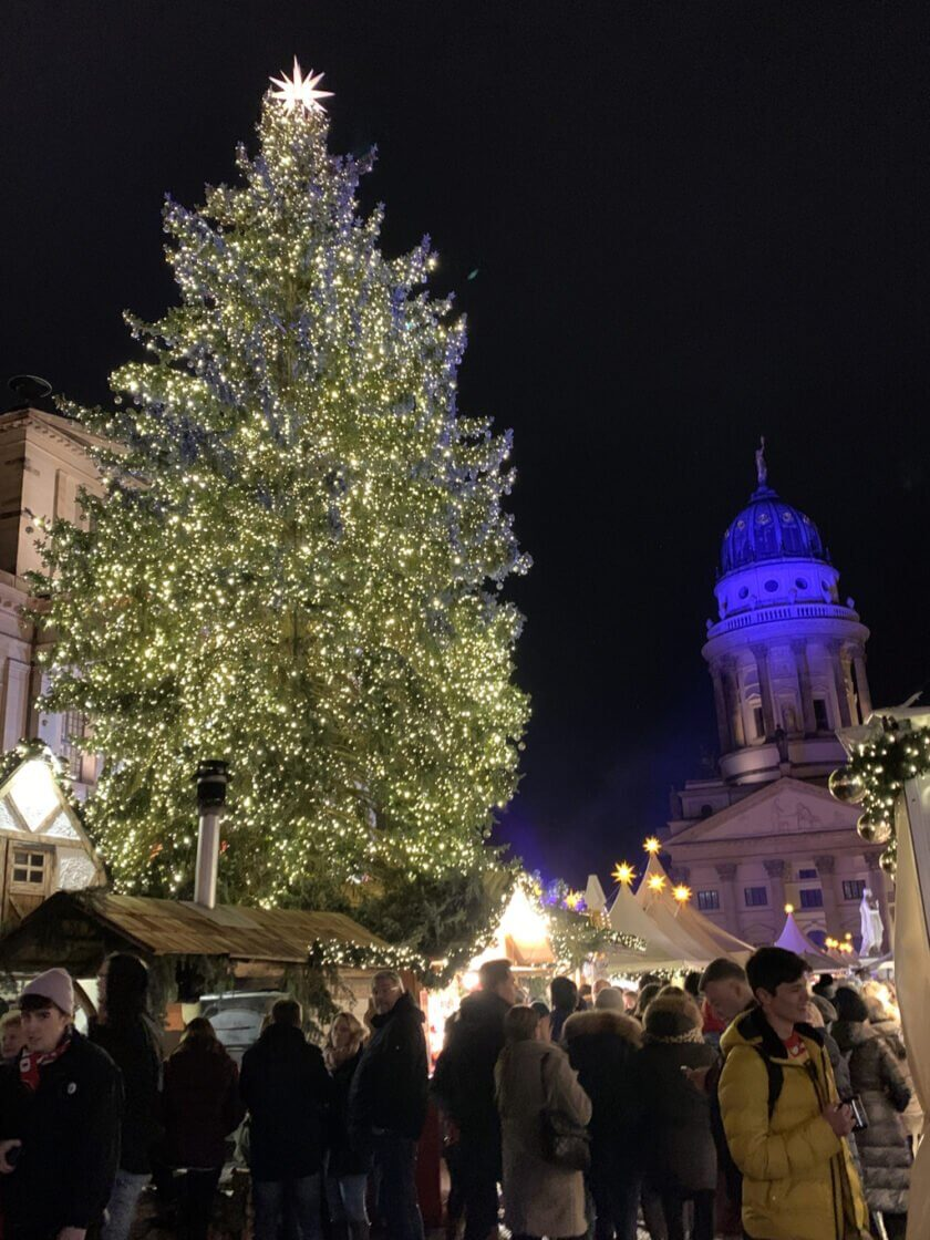 Mercados de Natal na Alemanha Berlim Gendarmenmarkt