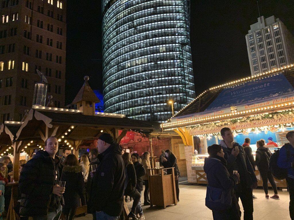 Mercados de Natal na Alemanha Berlim Potsdamer