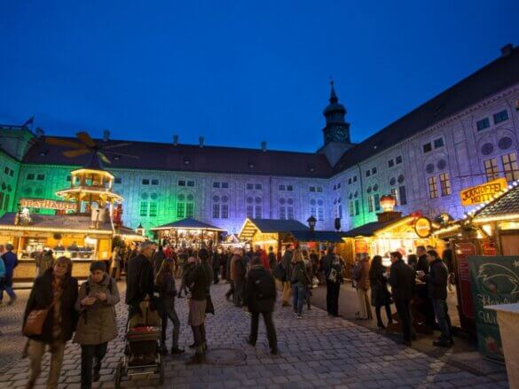 Mercados de Natal na Alemanha Munique