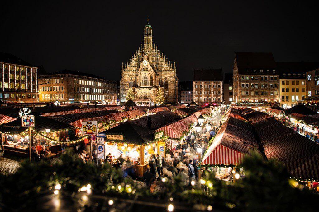 Mercados de Natal na Alemanha Nuremberg