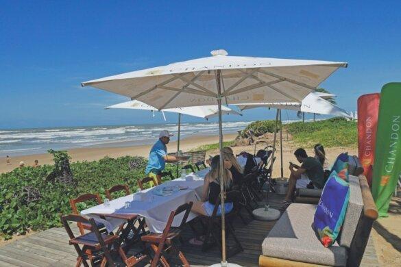 O que fazer em Aracaju Barraca praia