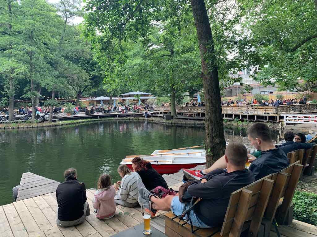 Cafe am Neuen See restaurante em Berlim