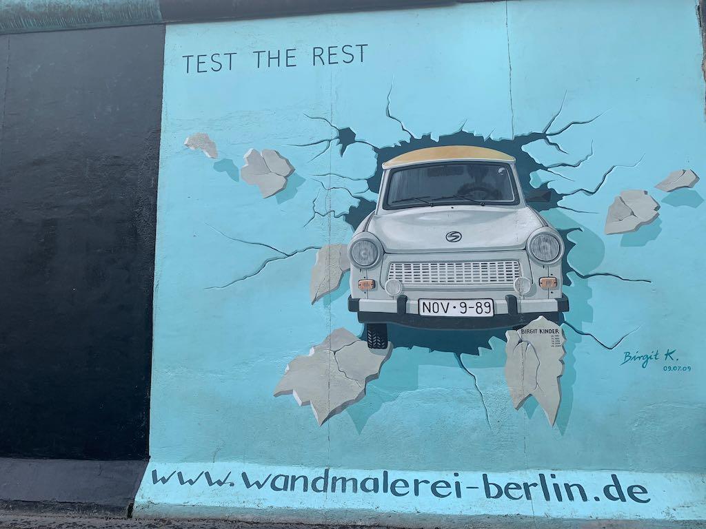 East Side Gallery O que fazer em Berlim