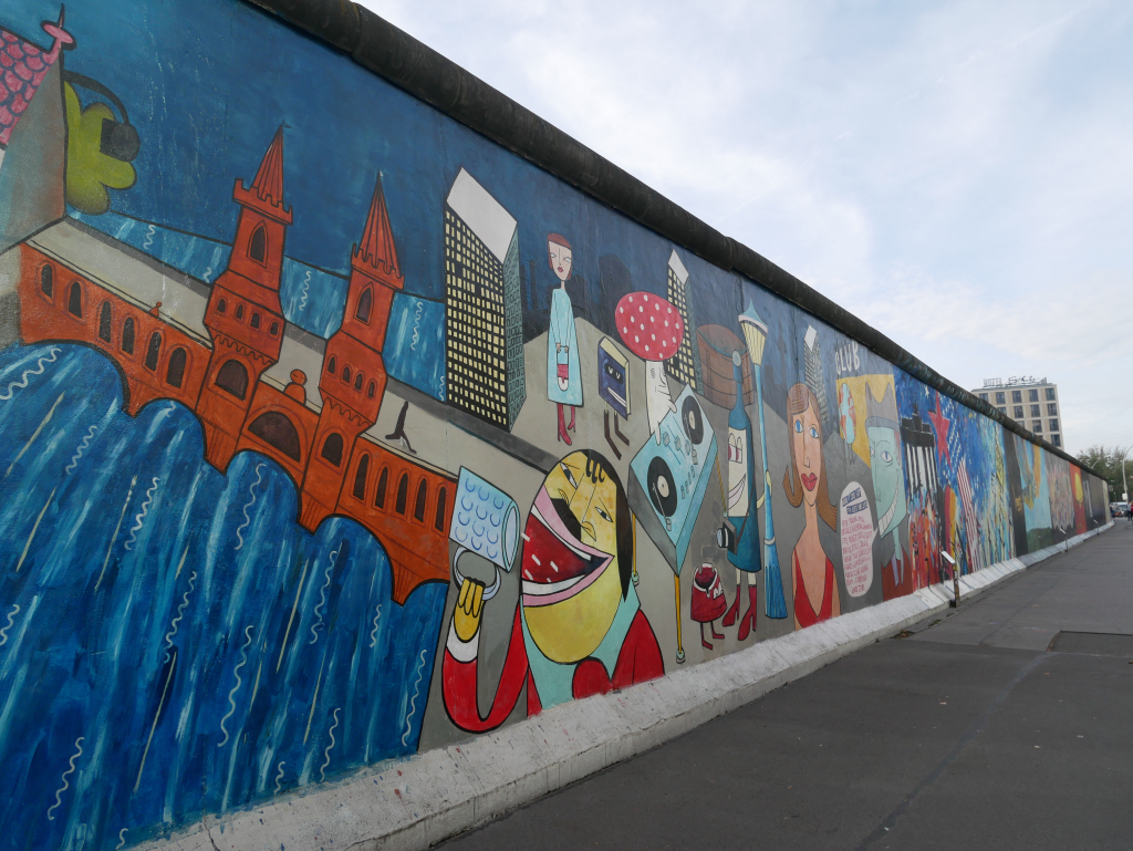 East Side Gallery Passeio em Berlim