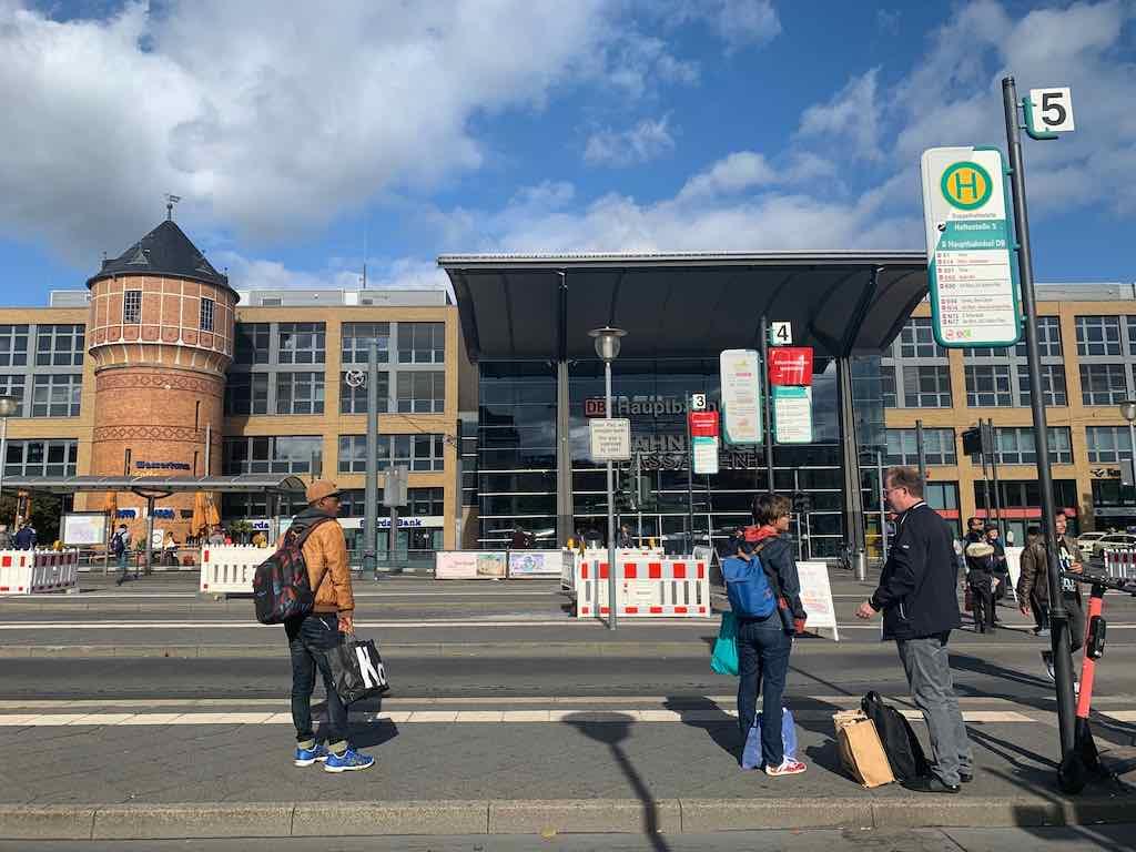 Estacao de trem de Potsdam Cidade perto de Berlim