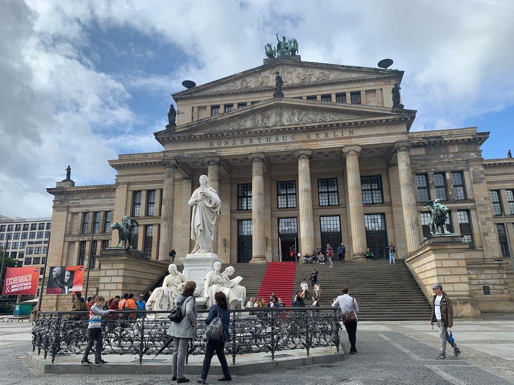 Gendarmenmarkt passeio em Berlim
