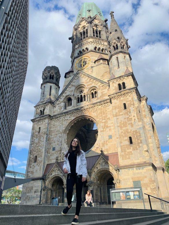 Igreja destruida Berlim