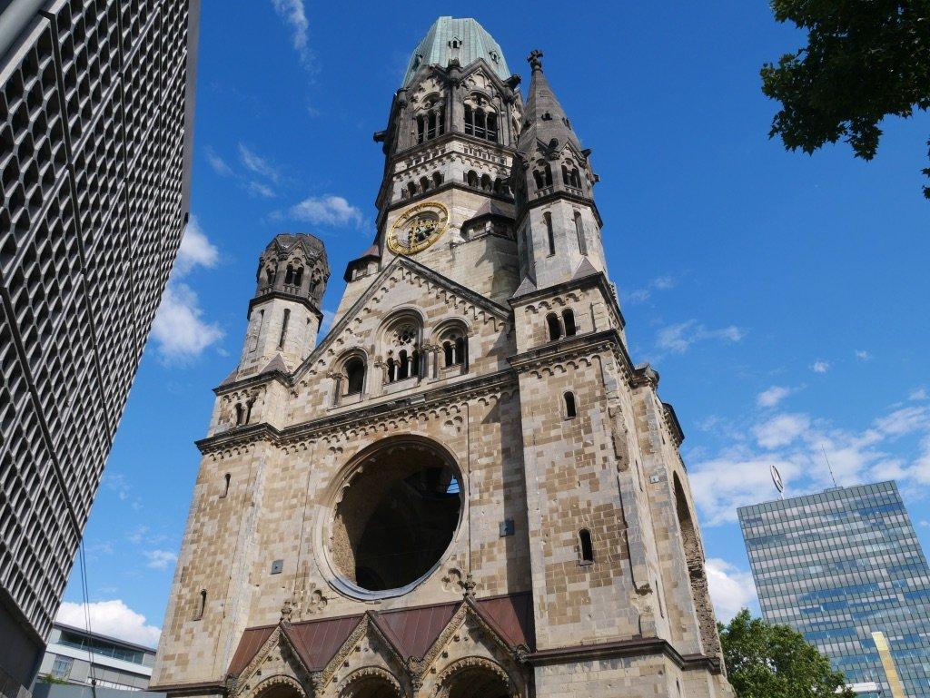 Igreja destruida passeio em Berlim
