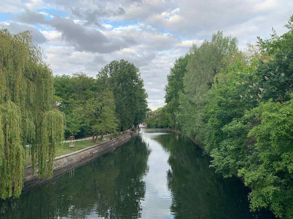 Landwehrkanal rio passeio em Berlim