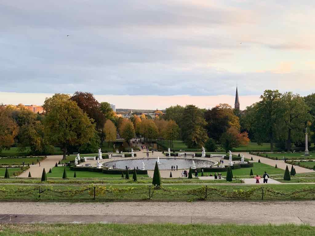 Potsdam Parque Palacios Berlim