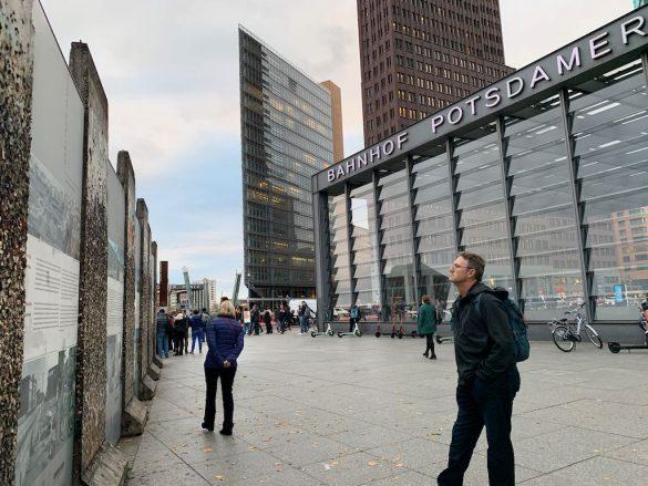 Potsdamer Platz Muro de Berlim