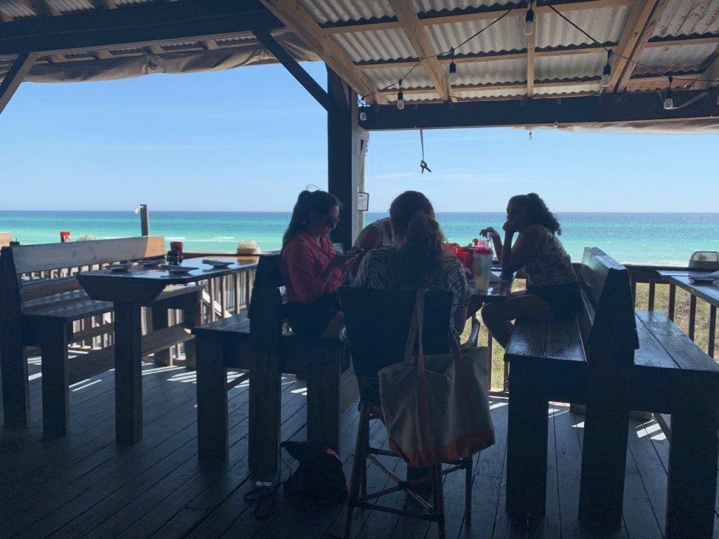 Praia da Florida PanamaCityBeach restaurante
