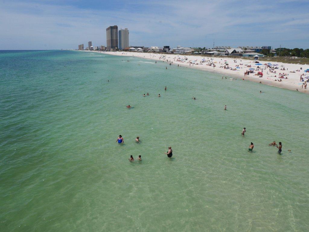 Praia da Florida Pier Panama city BeachJPG
