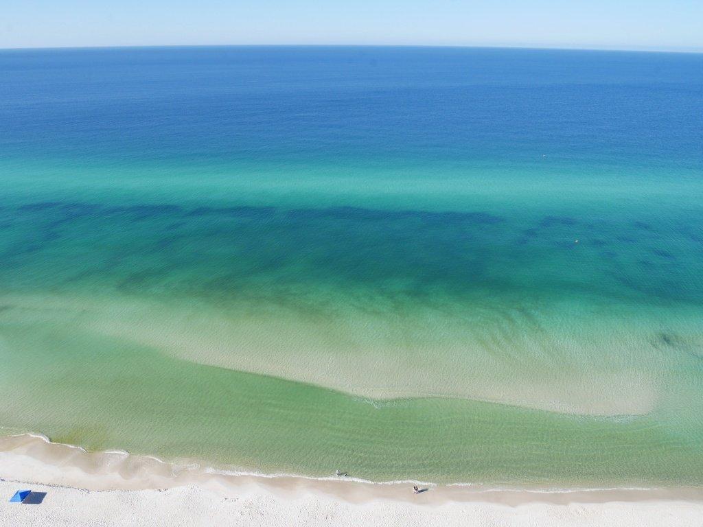 Praia na Florida Panam City Beach e Tidewater beach