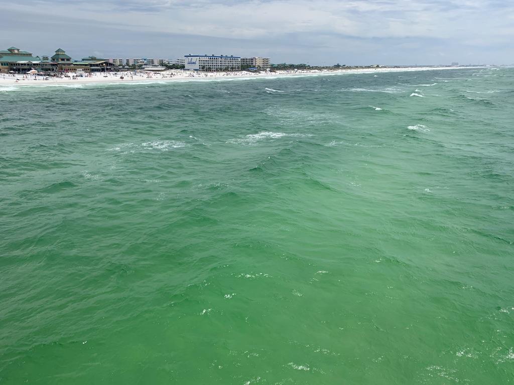Okaloosa Pier Praia nos Estados Unidos