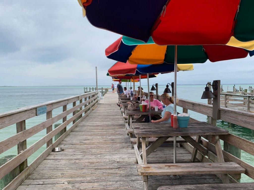 Praia Estados Unidos Destin Restaurante