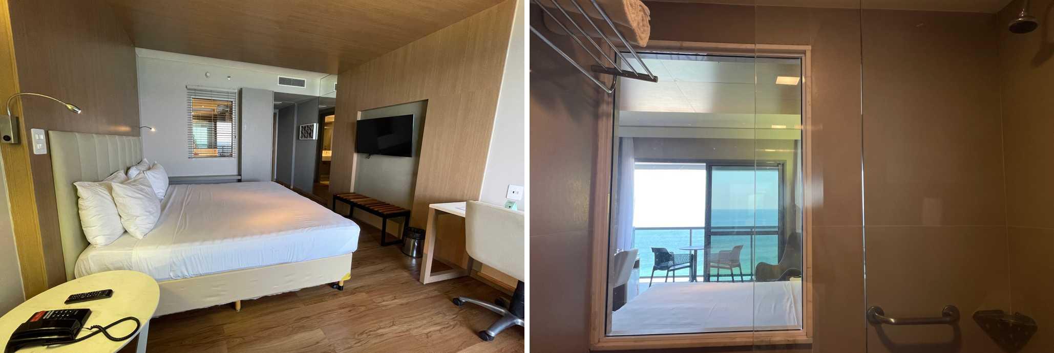 Hotel na Barra Laghetto Stilo banheiro