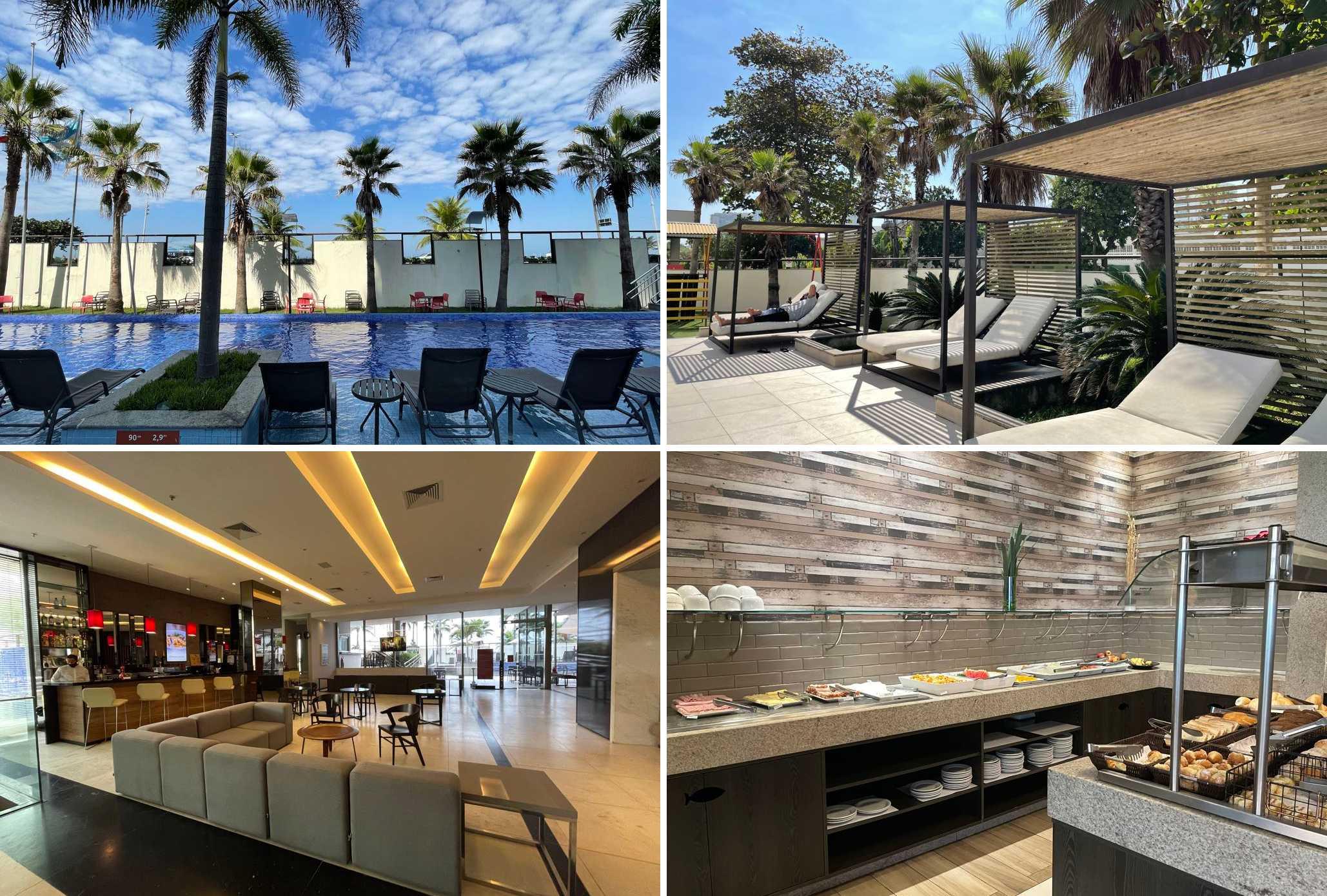 Hotel na Barra Laghetto Stilo estrutura