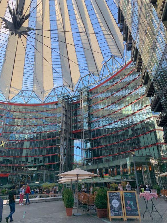 Sony Center Passeio em Berlim